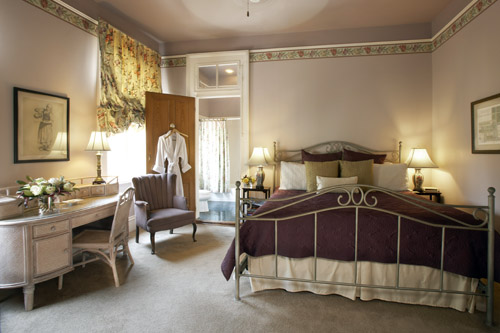 The Clair guestroom at Maison Perrier Bed & Breakfast of New Orleans