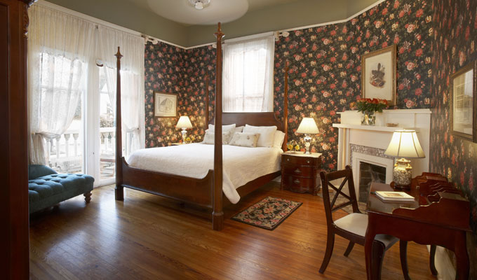 The Claudette guestroom at Maison Perrier Bed & Breakfast of New Orleans