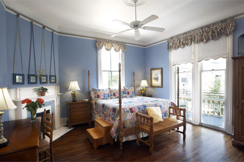 The Dolly guestroom at Maison Perrier Bed & Breakfast in New Orleans