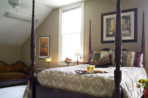 The Irene guestroom at Maison Perrier Bed & Breakfast in New Orleans
