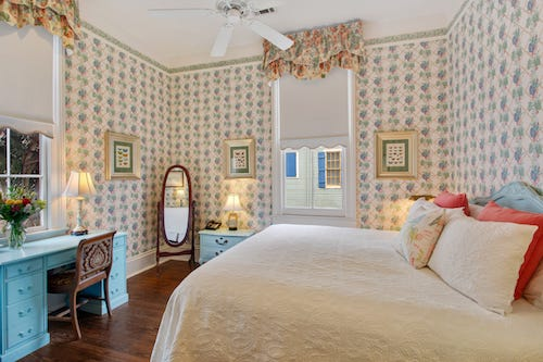 The Charlotte guestroom at Maison Perrier Bed & Breakfast in New Orleans