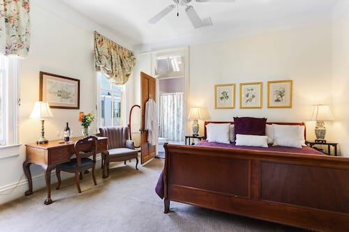 The Clair guestroom at Maison Perrier Bed & Breakfast in New Orleans