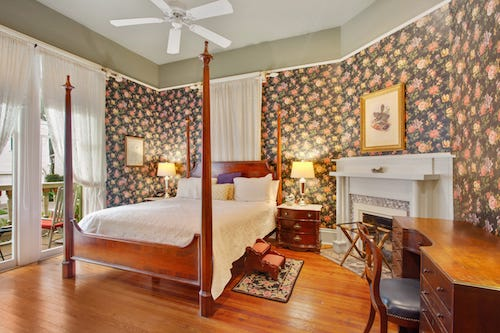 The Claudette guestroom at Maison Perrier Bed & Breakfast in New Orleans